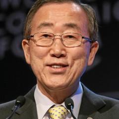 JTO generalinis sekretorius Ban Ki-moon lankėsi VDU