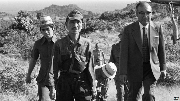 Hiroo Onoda atsisakė pasiduoti