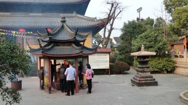 Naujieji metai Kinijoje: maldos šventykloje
