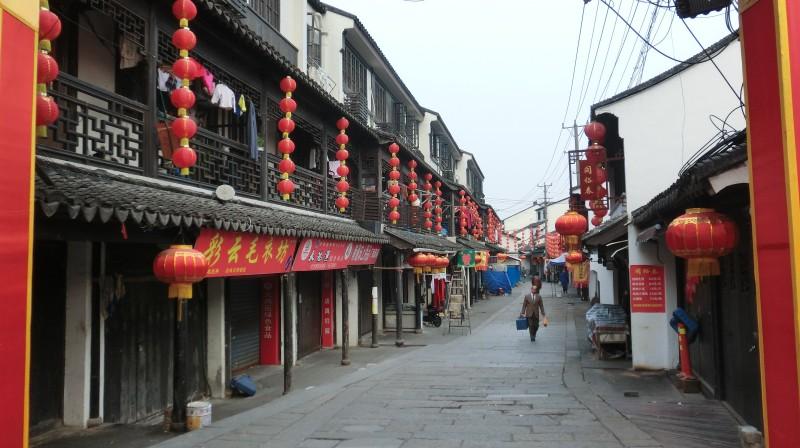 Naujieji metai Kinijoje: tuščia turgavietė