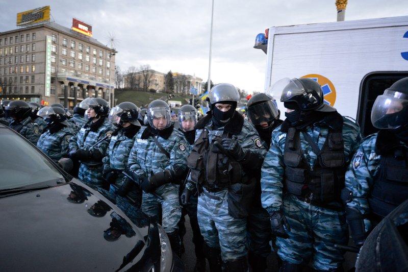 Ukraina Japonijos Spaudoje: milicija