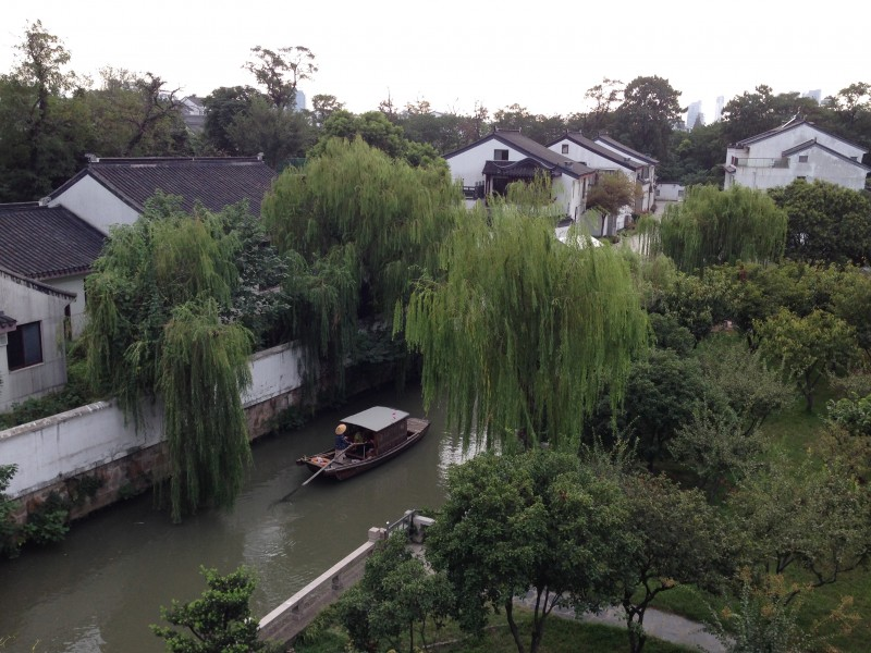 Traditional Suzhou canal