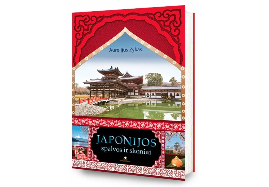 Japonijos spalvos ir skoniai: nauja A. Zyko knyga