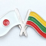 Lithuania-Japan bagde