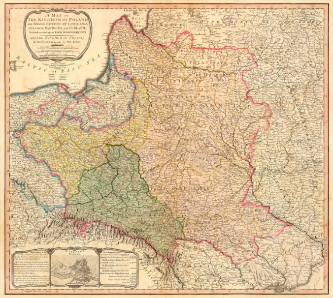 LT and Poland 1799 リトアニアの歴史