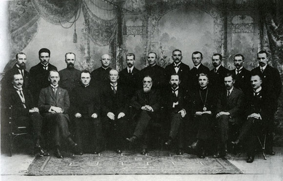 Members of the Lithuanian Council リトアニアの歴史