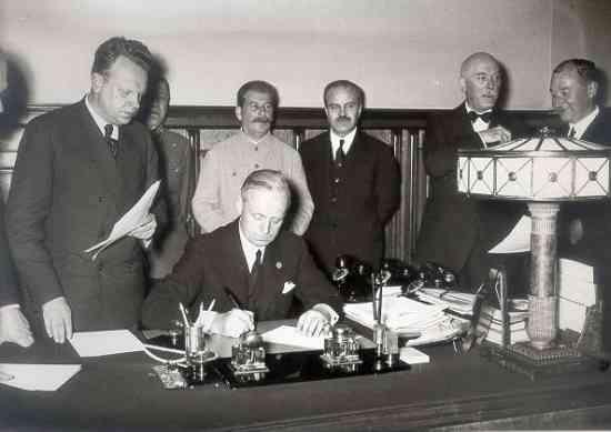 Molotov-Ribentrop pact リトアニアの歴史