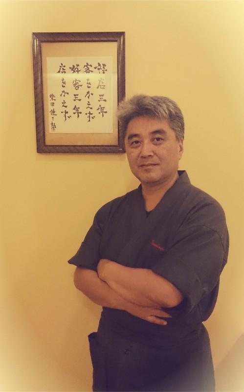 Keishi Yamauchi - japonų virtuvės ''Kamikadzė'' savininkas ir šefas