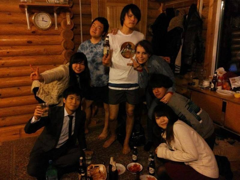 日本人の留学生