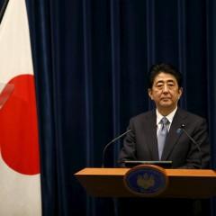 Nestandartinė Japonijos premjero Šindzo Abės kalba papiktino kaimynes