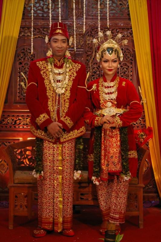 Indonesian friend's wedding