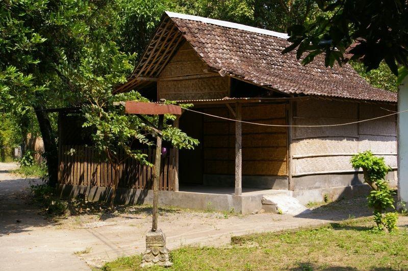 "Ria's ""big tent"" home in Yogyakarta, Indonesia"