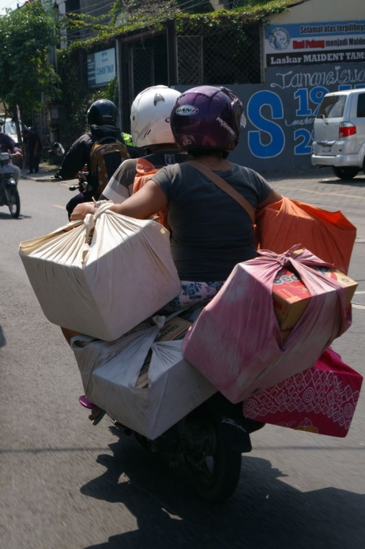 Motorbiking, Southeast Asian style