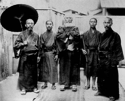 The Ryukyuans. Photo taken in Meiji period.
