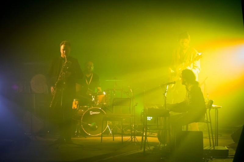 """Koncerte nuskambėjo ir """"Hellsing"""" pagrindinė tema. Nuotr. Artūras Samalius"""