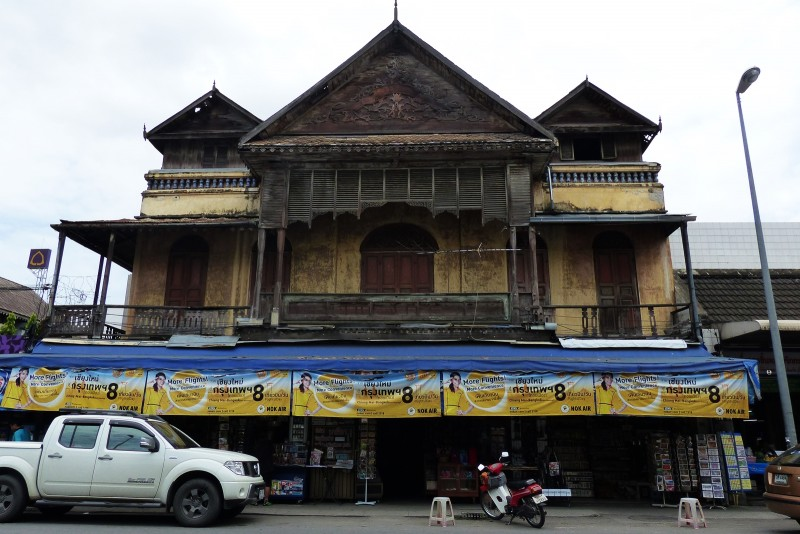 Old Building on Tha Pae rd, Chiang Mai