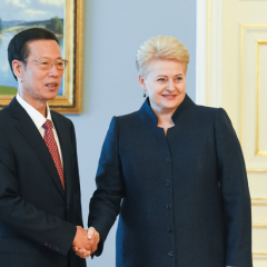 Economic relations between Lithuania and China growing stronger