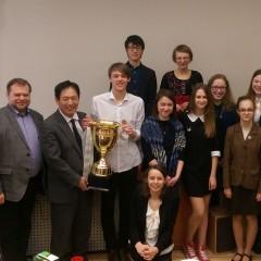 Vilniuje vyko šeštasis japonų šnekamosios kalbos konkursas