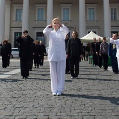 At the end of April Vilnius will seek a Tai Chi record