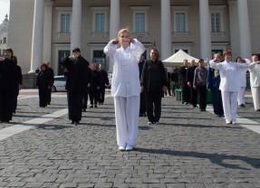 Balandžio pabaigoje Vilnius sieks Taiči rekordo