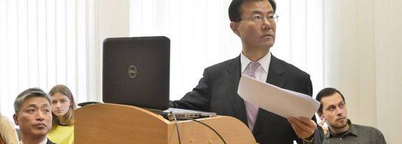 Pietų Korėjos ambasadoriaus Choi Sung-joo paskaita Lietuvoje
