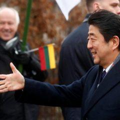 Japonijos ministro pirmininko vizitas Baltijos šalyse