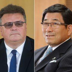 Lietuvoje lankosi Gifu prefektūros gubernatorius Hajime Furuta