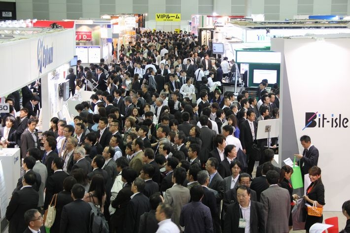 """""""Japan IT Week Autumn 2019"""". 2019 m. spalio mėnesį vykstančios parodos Japonijoje."""