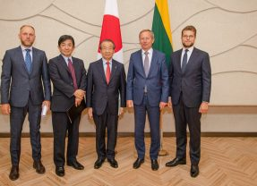 Japan is one of the most important trade partners for Lithuania in Asia