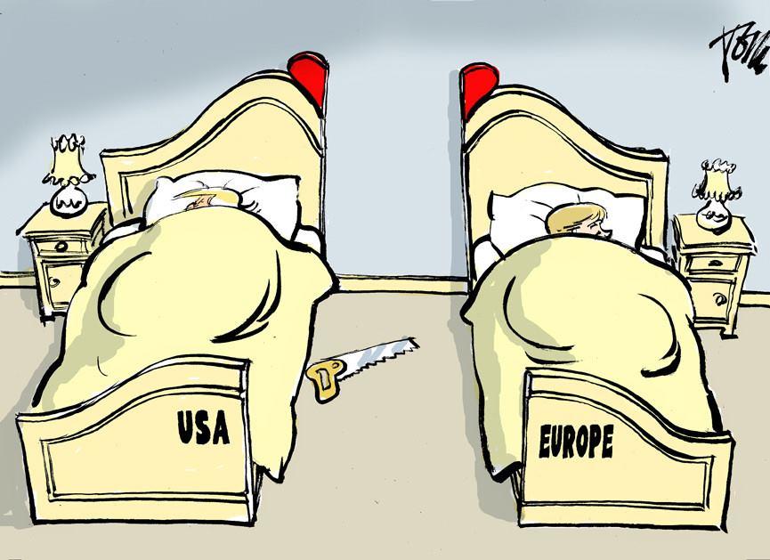 Europos Sąjunga: tarp Erelio ir Drakono