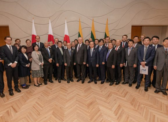 Chancellor Algirdas Stončaitis: Japanese business is welcome to discover Lithuania