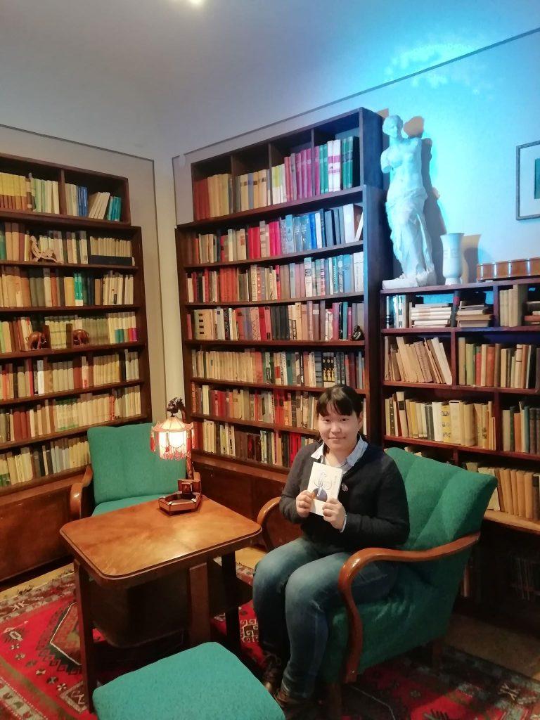 Aya Kimura Venclovų namuose