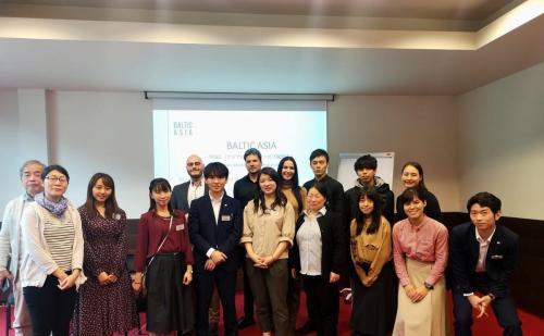 Susitikimas su INDEX'19 dalyviais iš Japonijos (2019)