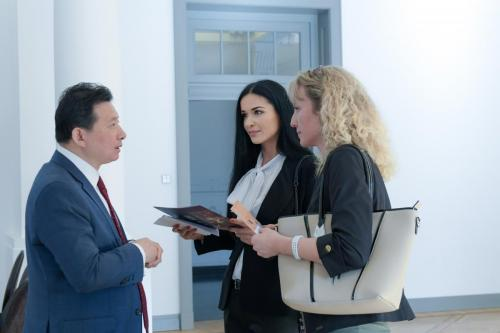 Susitikimas su Cheung King School of Business prezidentu, pn. Bo Ji (2019)